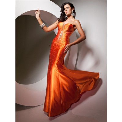 Related Keywords & Suggestions for Orange Mermaid Prom Dresses