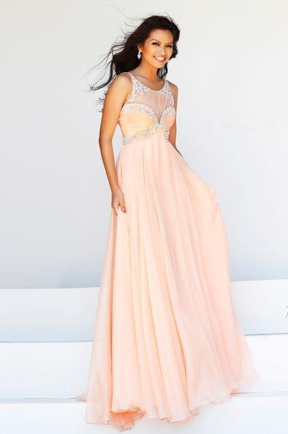Prom Dresses Bateau a Line