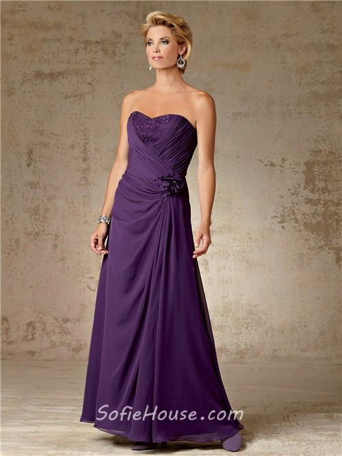 mother of the bride dresses purple - Dress Yp