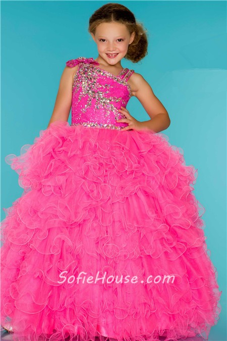 Sequin Party Dress Little Girl