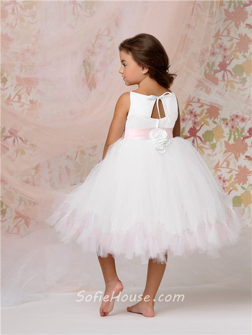 Tulle Tutu Flower Girl Dresses