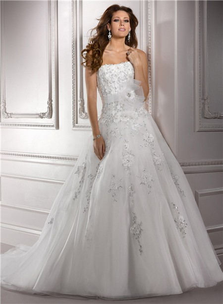 Ed A Line Wedding Dress - Wedding Gown Dresses