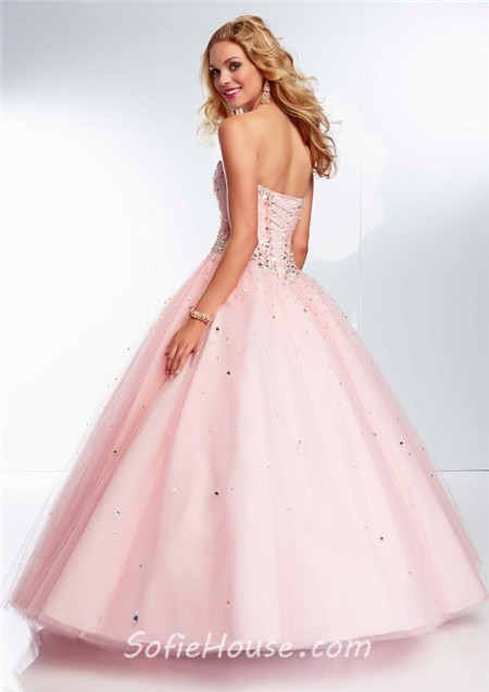 Light Pink Ball Gown - Missy Dress