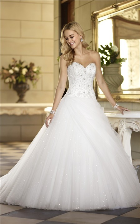 Wedding dresses ball gown sweetheart neckline corset www for Sweetheart corset wedding dress