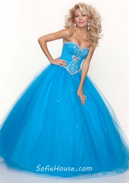 corset ball gown prom dresses | Gommap Blog