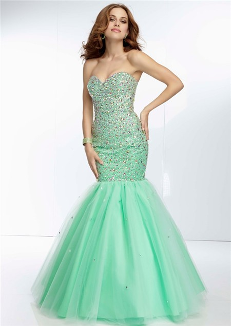 Mint Green Prom Dresses 2014
