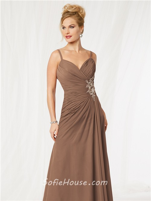 Elegant Chiffon Mother of the Bride Dress
