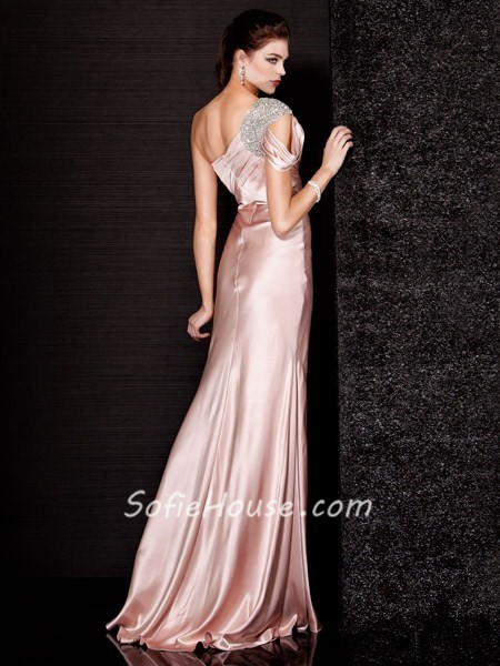 Couture One Shoulder Dress