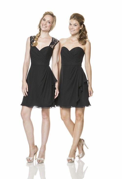 Little Black Bridesmaid Dress - Wedding Dress Ideas