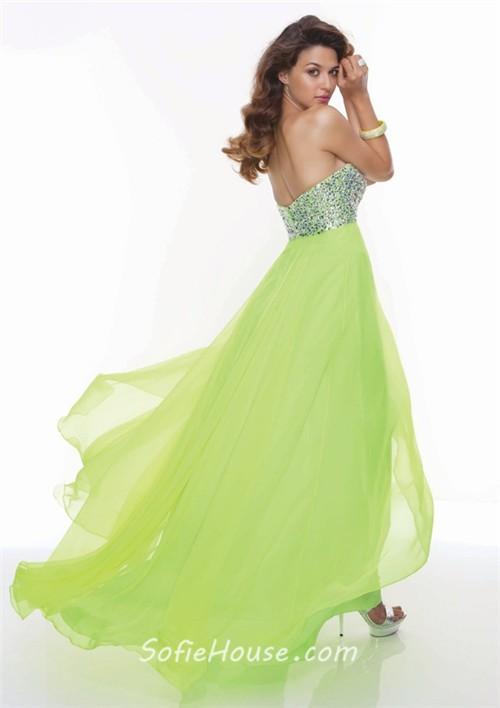 Bright Green Prom Dress
