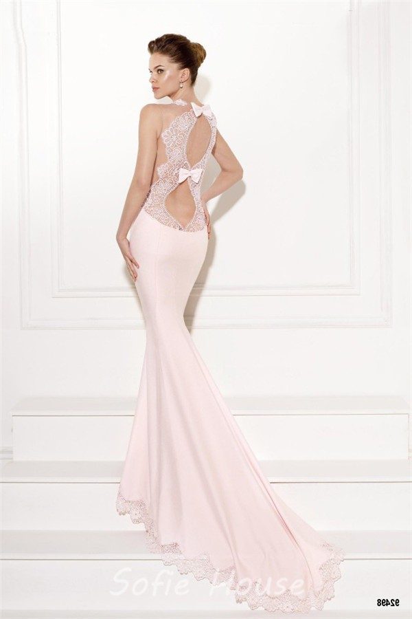 White and hot pink wedding dresses