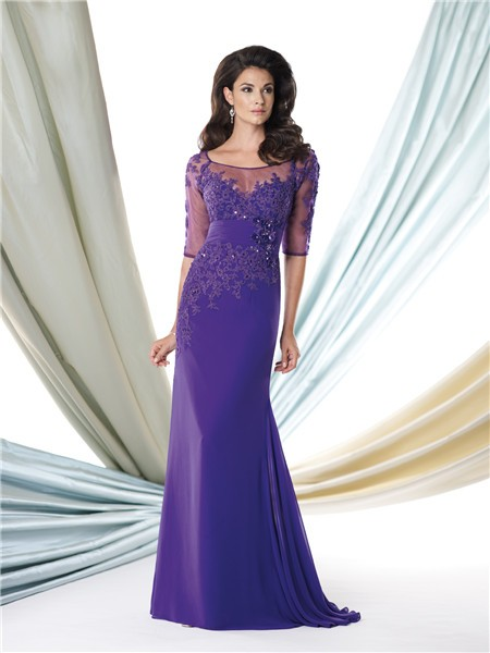 purple mother of bride dresses | Gommap Blog