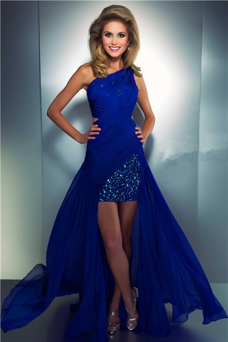 Modern High ... Beautiful Gold Prom Dresses 2013