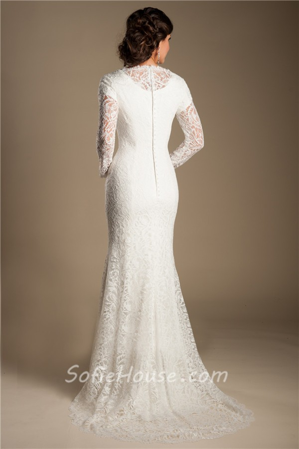 Modest Mermaid High Neck Long Sleeve Vintage Lace Wedding. Modest Knee Length Wedding Dresses. Modern Vintage Wedding Dresses Style D1639. Macy's Beach Wedding Dresses. Vintage Wedding Dresses Uk London. Beach Wedding Dresses With Open Back. Vera Wang Wedding Dresses Gossip Girl. Wedding Dresses 2016 For Plus Size. Casual Wedding Dresses Second Marriage