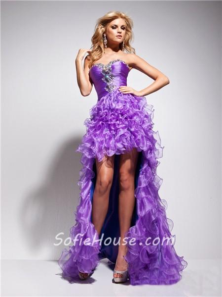 Blue And Purple Prom Dresses - Ocodea.com