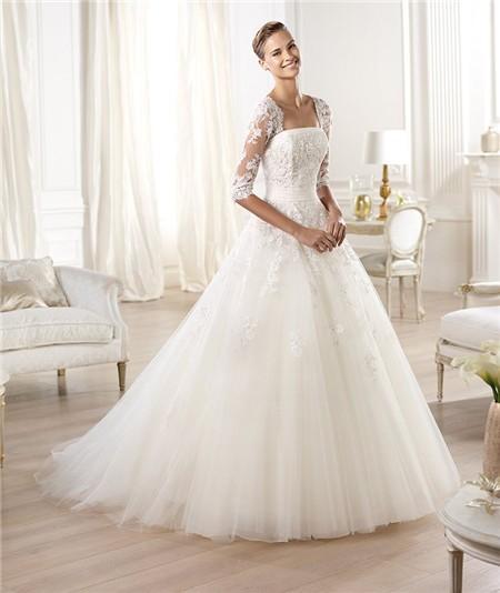 Wedding dresses princess lace