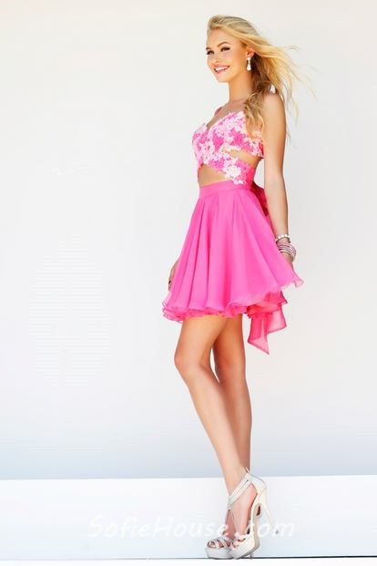 Pink Sweetheart Short