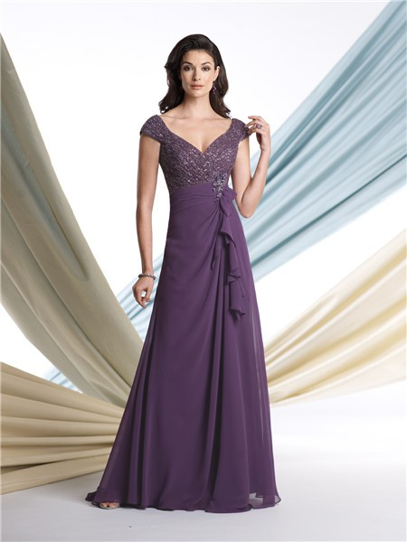 Aline evening dresses