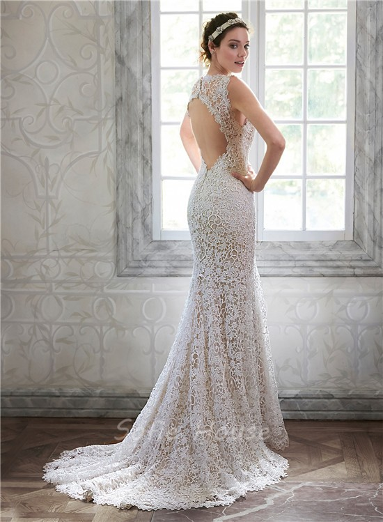Venice Lace Wedding Dress