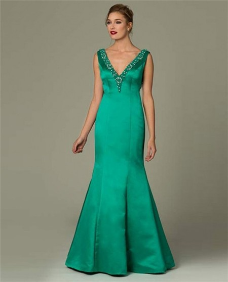 Emerald Green Sexy Evening Dresses