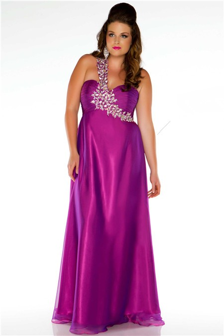 Question Sexy purple long dress