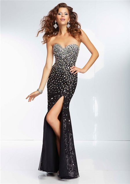Sexy Long Black Prom Dress_Black Dresses_dressesss