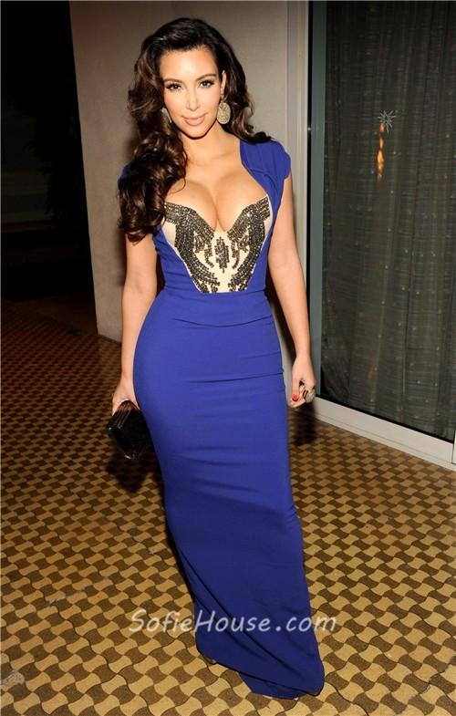 Royal Blue Tight Dress Photo Album - Reikian
