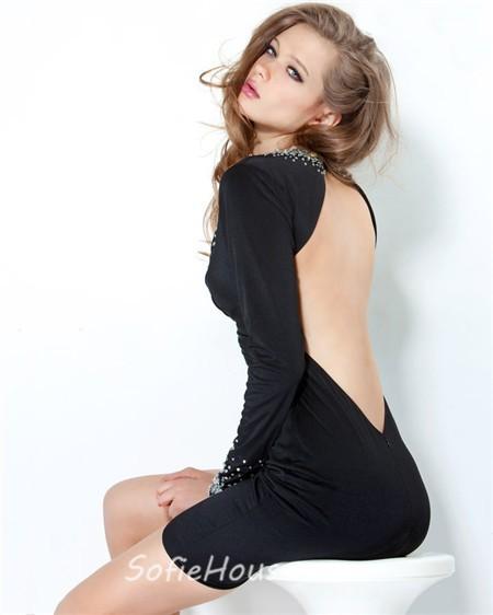 Backless Party Dresses Photo Album - Reikian