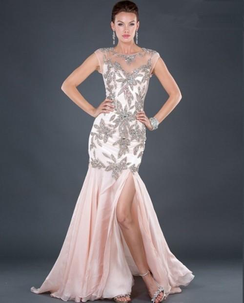 Jovani royal blue mermaid dress