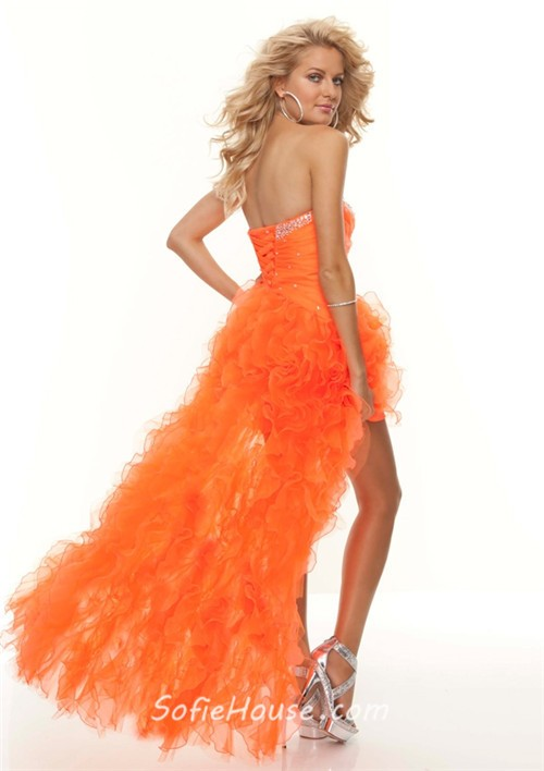 Sexy Orange Prom Dresses - Homecoming Prom Dresses