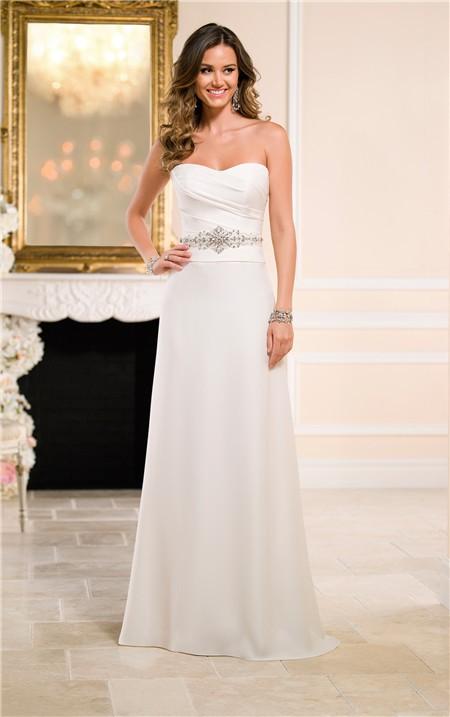 sheath column bridesmaid dress
