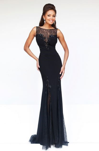 Prom Dresses With Lace Neckline 61