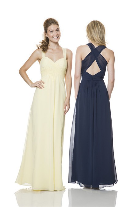 Ruched Bridesmaid Dress