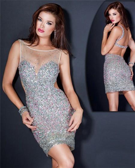 Beaded Party Dresses - Ocodea.com