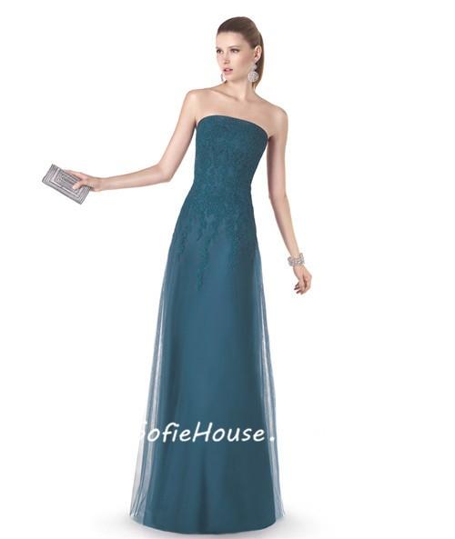Simple Sheath Prom Dresses