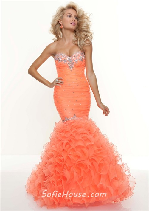 Trumpet Mermaid Prom Dresses