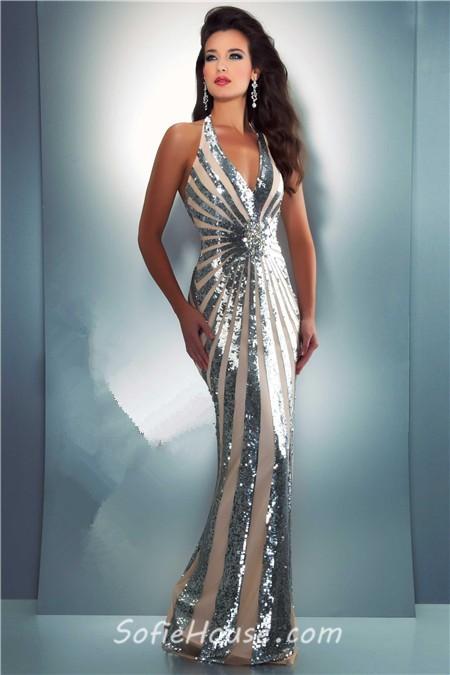 Sequin Prom Dress Unique