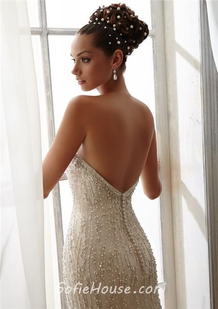 Big Breasted Wedding Dresses Hd Image