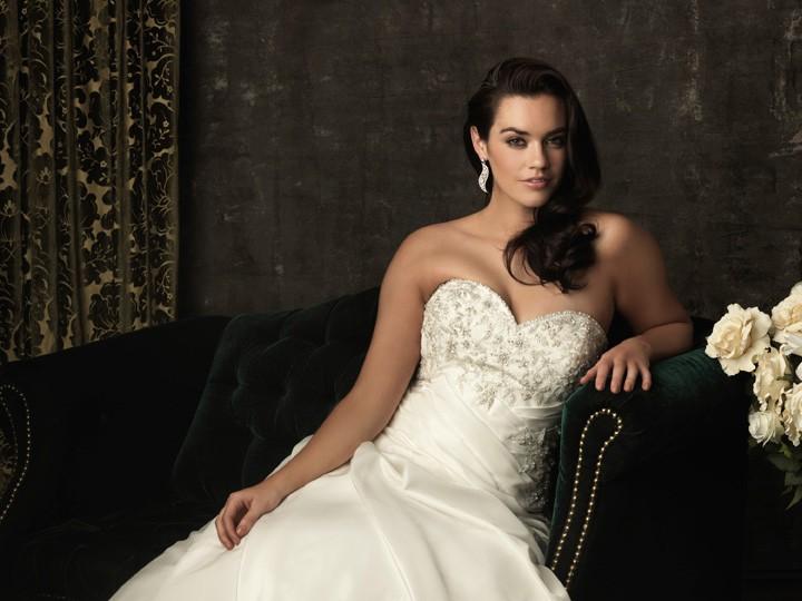 Simple A Line Sweetheart Taffeta Wedding Dress With: A Line Sweetheart Sweep Train Corset Back Taffeta Plus
