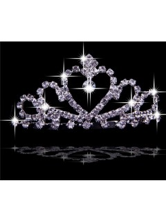 Beautiful Crystals Tiaras For Quinceanera/ Wedding