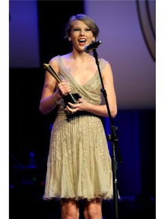 Elegant V Neck Short Champagne Gold Sequin Taylor Swift Dress