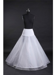 Fitted Drop Waist Jersey Net Hooped Wedding Bridal Petticoat Crinoline Slip