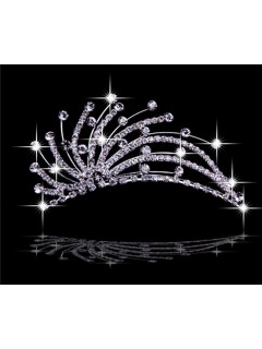 Pretty Unique Crystals Tiaras For Wedding/ Pageants
