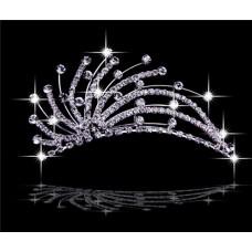 Pretty Unique Crystals Tiaras For Wedding/ Pageants