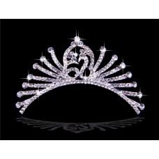 Royal Crystals Wedding Bridal Crown Tiaras