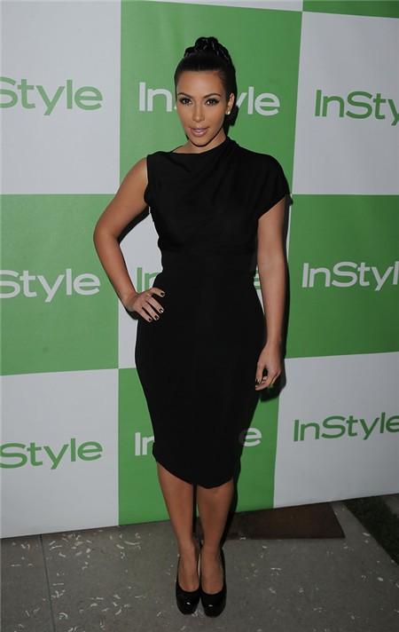 Unusual Asymmetric Short Kim Kardashian Inspired Little