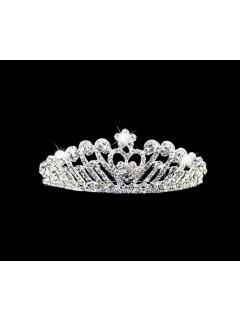2016 New Princess Crystals Wedding Brides Crown Tiaras