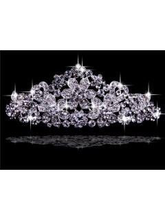 Beautiful Rhinestones Wedding Crown Tiaras