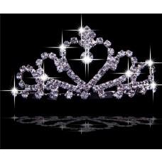 Beautiful Crystals Tiaras For Quinceanera/ Wedding