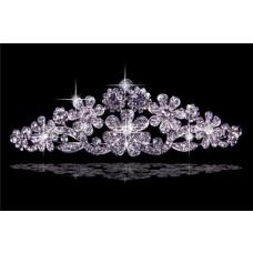 Pretty Crystals Wedding Bridal Crown Tiaras